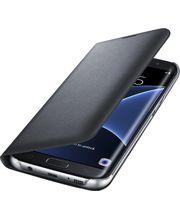 Samsung LED flipové pouzdro s kapsou EF-NG935PB pro Galaxy S7 edge, černé