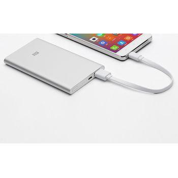 Xiaomi powerbanka 5000mAh (NDY-02-AM), strieborná
