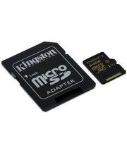 Kingston microSDXC 64GB Class 10/UHS-I, zápis 45MB/s + SD adaptér