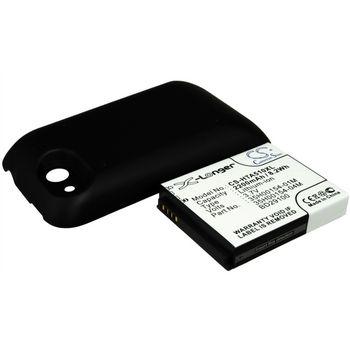 Batéria náhradná pre HTC Wildfire S, rozšírená vrátane krytu, Li-Ion 3,7V 2200mAh